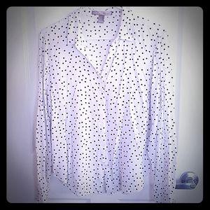 F21 Polka Dot Shirt